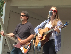 Just back from Nashville: Alyssa Trahan performing at the Monroe County Fair